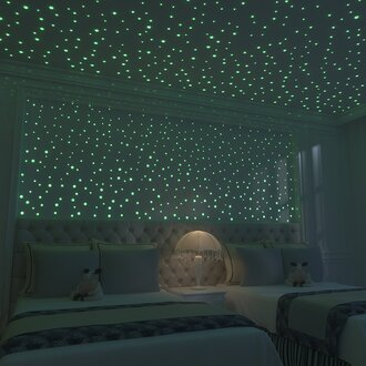 home accessory glowing stars wall star star stickers glow in the dark night lights