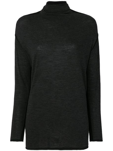 Transit top knitted top women black wool