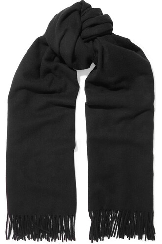 scarf wool black