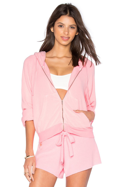 Wildfox Couture hoodie pink