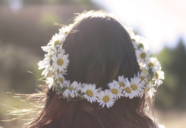 hat daisy flower crown similar jewels hair accessory daisy flower crown