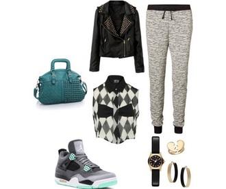 jacket shoes leggings phone cover pants bag cardigan