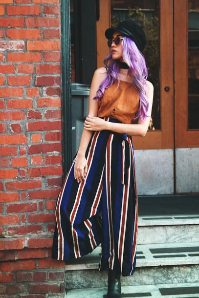 stardust bohemian blogger top dress pants hat