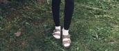 shoes,bethany mota,sandals