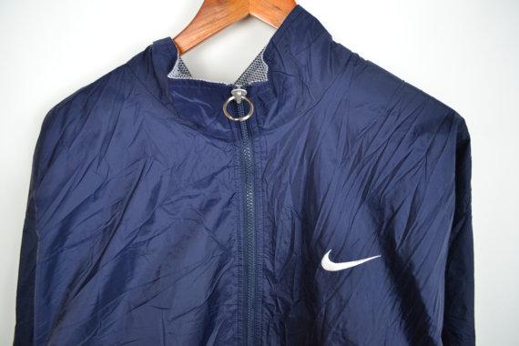 Blue Nike Minimal Windbreaker Jacket