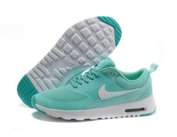 nike mint blue white shoes nike sneakers thea white sneakers running shoes air max air max 90 sneakers