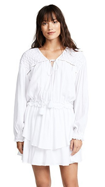 Steele dress blanc
