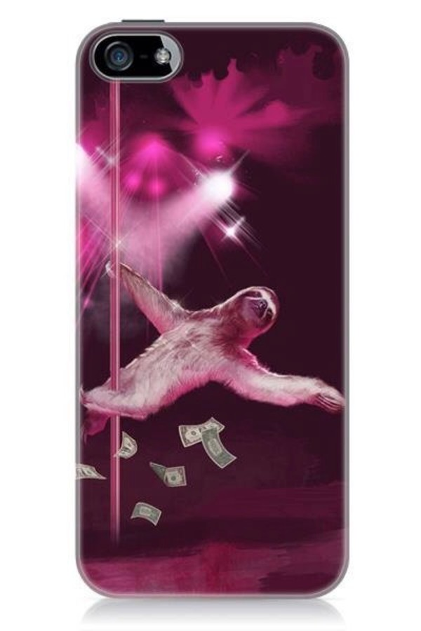 jewels stripper sloth phone cover iphone case stripper sloths