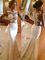 Buy satin appliques mermaid/trumpet sleeveless wedding dress at millybridal.net