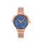 Montre femme 097m968 cristaux swarovski® bleu - strass et paillettes - notre sélection - montres femme - pierre lannier