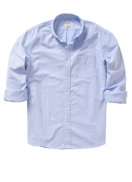 Rhodes Collar Oxford Tailored Slim - Blue   Classic Oxford Cotton Casual Shirt - Bonobos Men's Clothes - Pants, Shirts and Suits