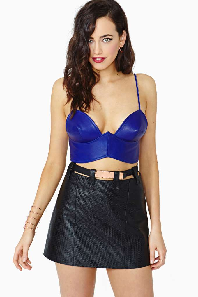Nasty Gal Collection Suspension Leather Skirt in  Clothes at Nasty Gal