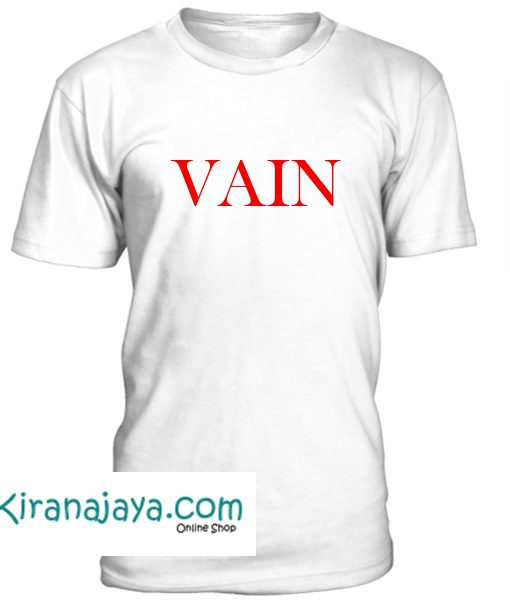Vain Font Tshirt – Kirana Jaya