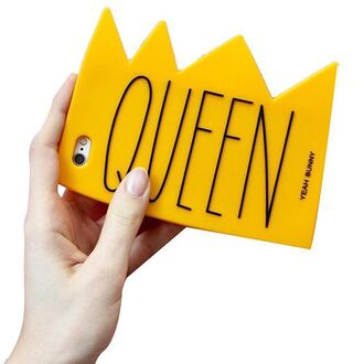 phone cover yeah bunny queen crown iphone case 3d case