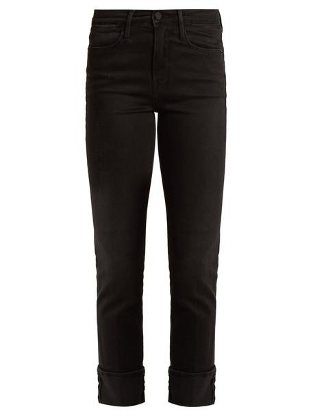 jeans denim high black