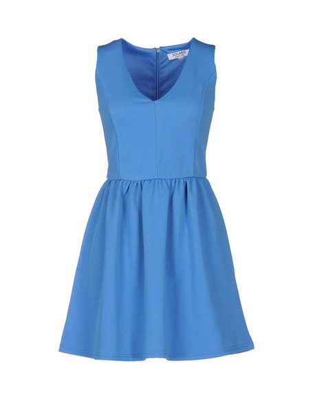 dress short dress azure solaris mini dress