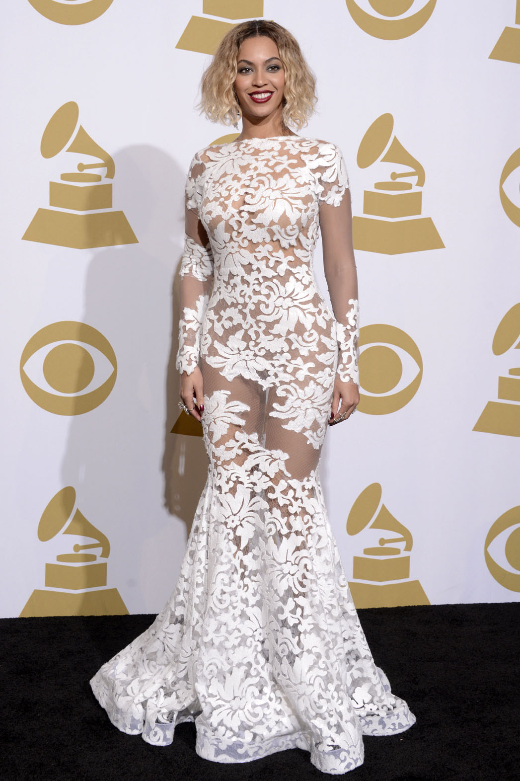 Beyonce's Grammys Dress Designer: 'I Love Nakedness' | The Hollywood Reporter