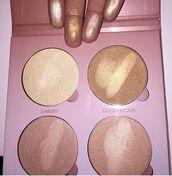 make-up,bronzer,gold highlight,makeup palette,contour