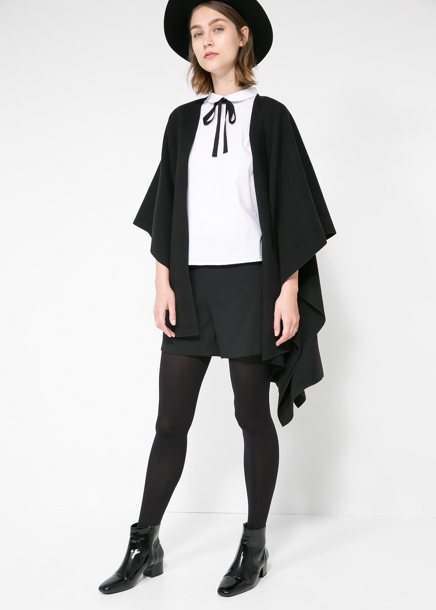 Bow neck shirt - Women | MANGO