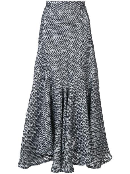 MATICEVSKI skirt long skirt long women spandex water cotton black silk