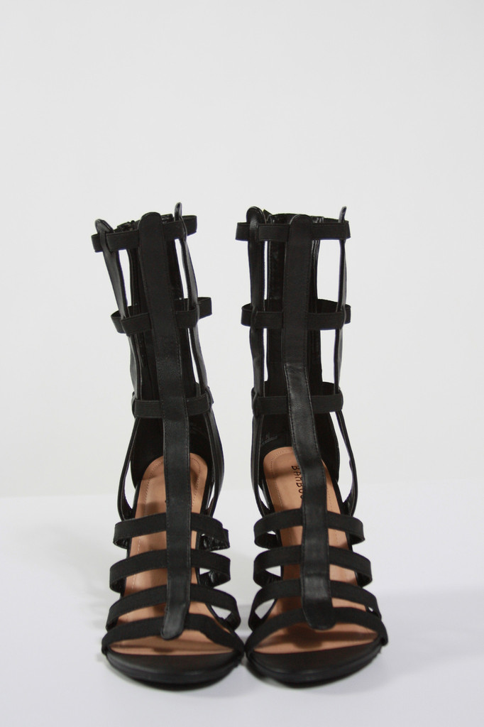Strappy Gladiator Wedge Sandals