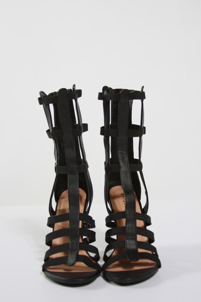 Strappy Gladiator Wedge Sandals