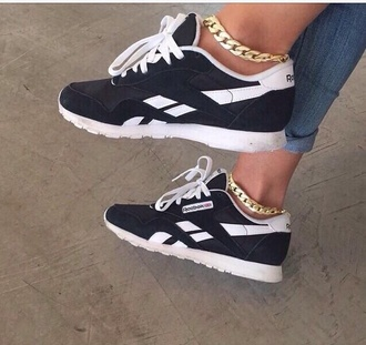 shoes reebok black white black and white bw