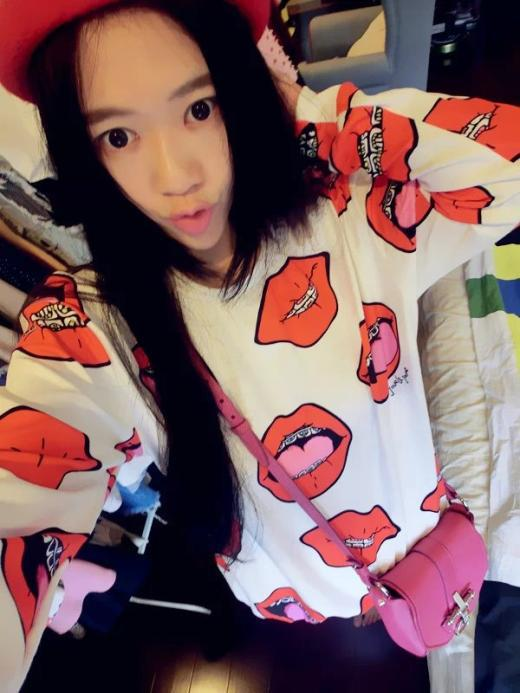 Aliexpress.com : buy unique design! women street fashion personalized spoof red lip braces print long sleeve loose pullover sweatshirts y 1106 from reliable sweatshirt 2013 suppliers on leidon wholesale & retail mall