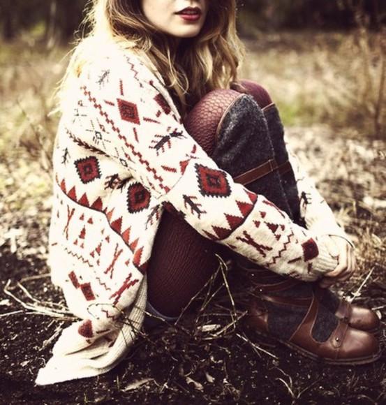jacket veste rouge blanc shoes ethnique creme longue hiver été burgundy