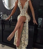 dress,prom dress,gown,gold,slit dress,design,party dress,beautiful,cocktail dress,white lace dress,lace dress,diamond dress,white dress,silver,long dress,wedding dress,diamonds,sexy dresses prom,sexy dress,prom,long prom dress,formal dress,white,nude,shoes,maxi dress,deep v,pretty,sparkly dress,floral,heels,glitter,glitter dress,sexy,gold dress,lace,sequins,sparkle,luxury,bag,gold and lace,gold sequins,gold sequins dress,gold sexy dresses,v neck dress,shiny,rhinestones,cream,v neck,plunge v neck,nude heels,evening dress,sexy v-neck dress,beyonce,date dress,sexy prom dress,long,lace prom dress,sparkly prom dress,gorgeous,wedding,v cut dress,lace wedding dress,homecoming dress,spilt dress,low cut dress,elegant dress,sequin dress,crystal,gemstone,clothes,long vneck,champagne dress