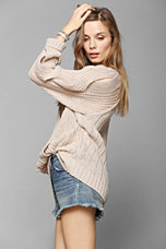 Ladakh Mega Cable Sweater - Urban Outfitters