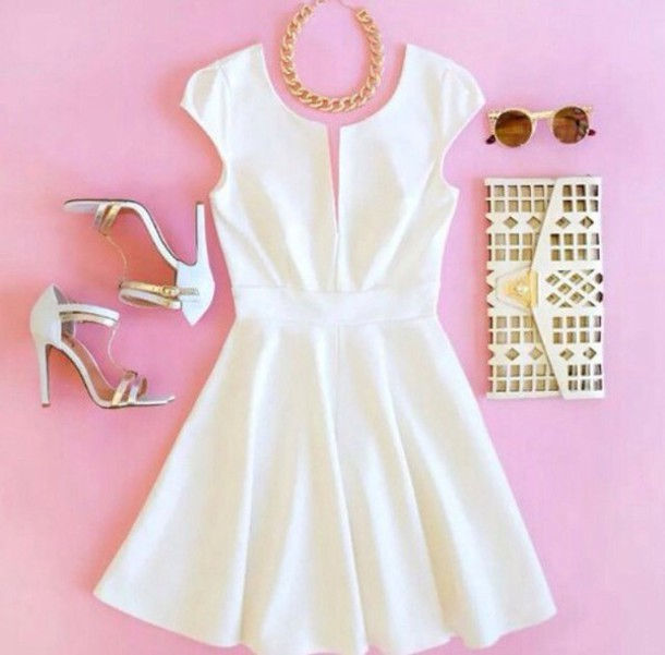 dress shoes bag white dress