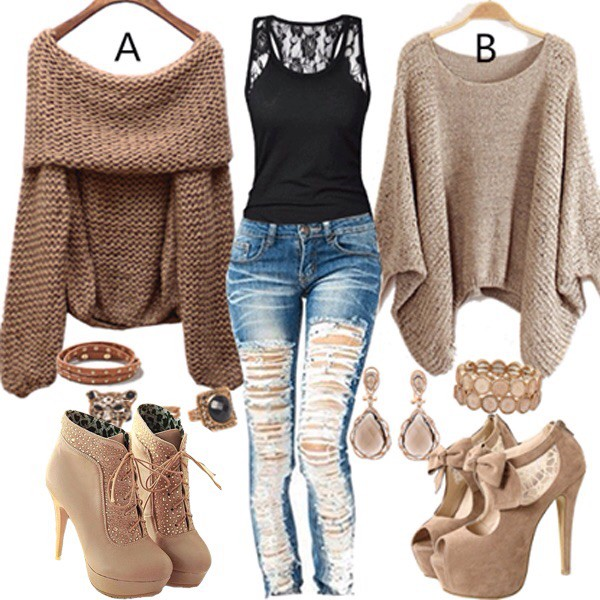 fall outfits jeans