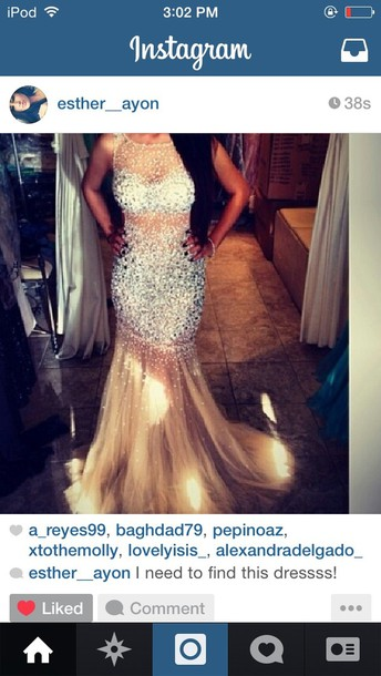 dress gold long glitter prom party