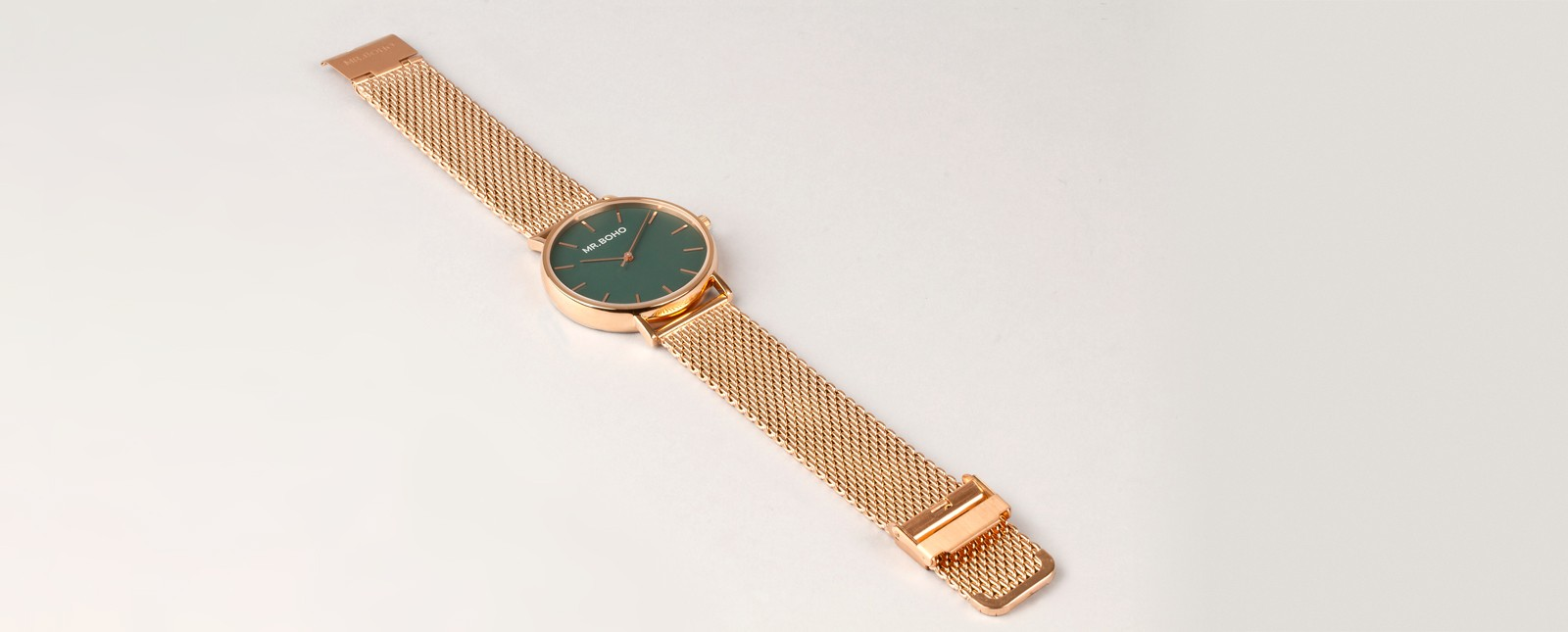 Green Metallic Copper - Watches | Mr. Boho