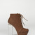 Towering Brown Lace-Up Boots