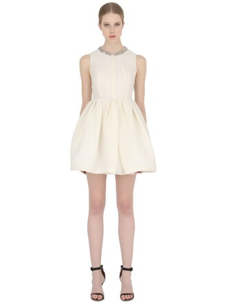 dress embellished white