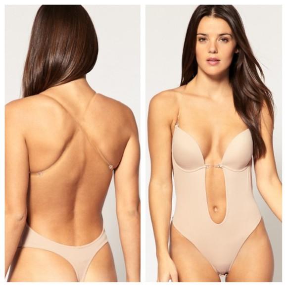 bodysuit body underwear bra
