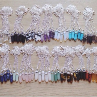 jewels pendant rainbow necklaces & pendants
