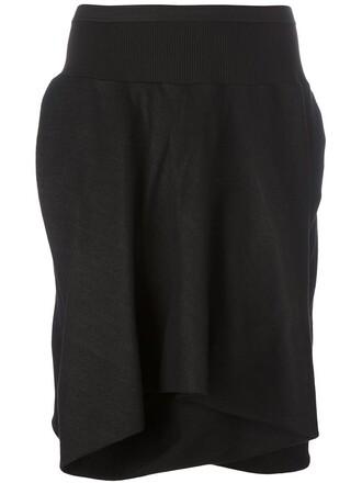 skirt draped skirt draped black