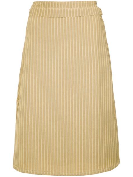 Lilly Sarti high waist skirt - Metallic