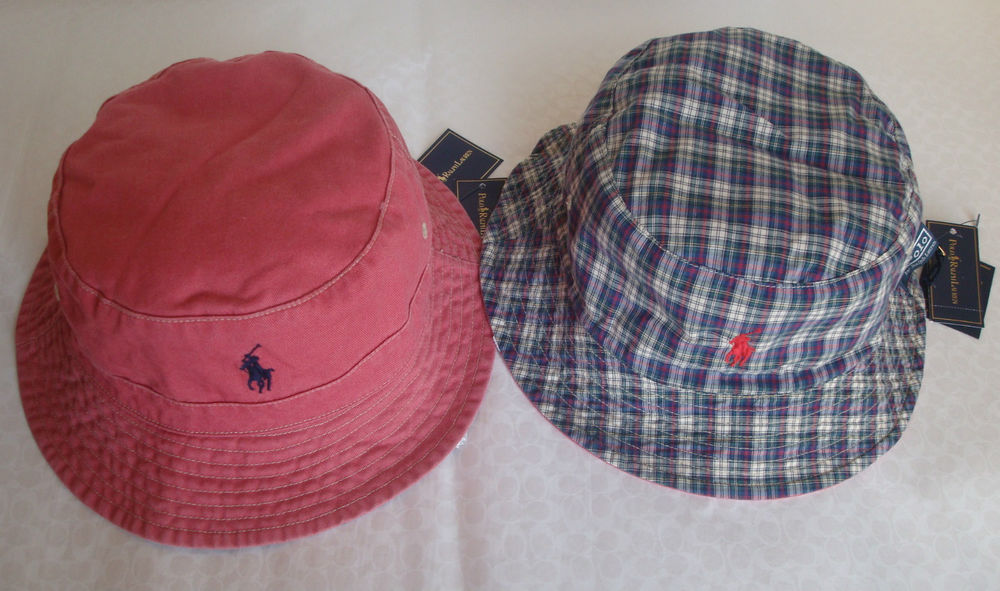 Polo Ralph Lauren Reversible Bucket Hat Size L XL s M | eBay