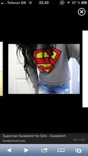 sweater,superman,sweatshirt,hoddie,hoodie