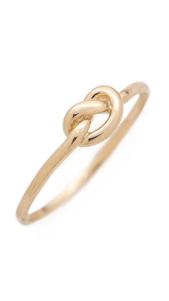 Ariel Gordon Jewelry Love Knot Ring | SHOPBOP