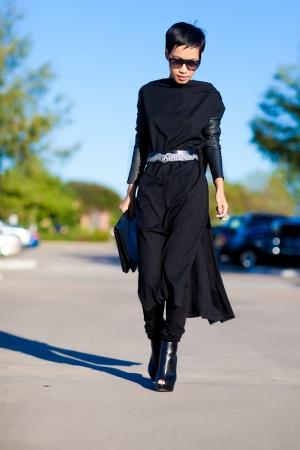 NINI Black Wool Tunic | Nini's Style