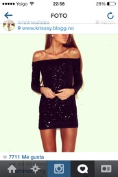 dress,sequins,sequin dress,black sequin dress,mini dress,short dress,short prom dress,black dress,sparkle,sparkly dress,off the shoulder,off the shoulder sweater,off the shoulder dress,bodycon dress,club dress,cute,cute dress,black,tumblr,pinterest,tumblr outfit,tumblr clothes