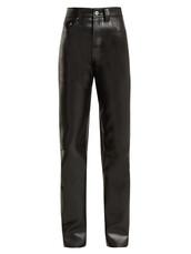 leather,black,pants