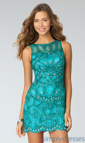 dress prom short dress bodycon sparkle illusion dress pretty nice short prom dress turquoise turquoise dress
