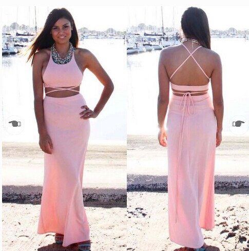 """shake it off"" criss cross maxi dress (2 colors available) – glamzelle"