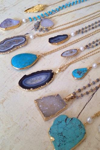 jewels rock necklaces